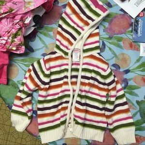 Girls Gymboree Striped Sweater